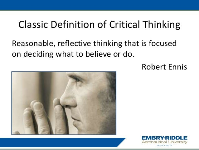Ennis Critical Thinking