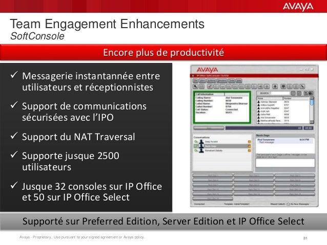 Webinar release 9 1 avaya ip office - Avaya ip office server edition ...