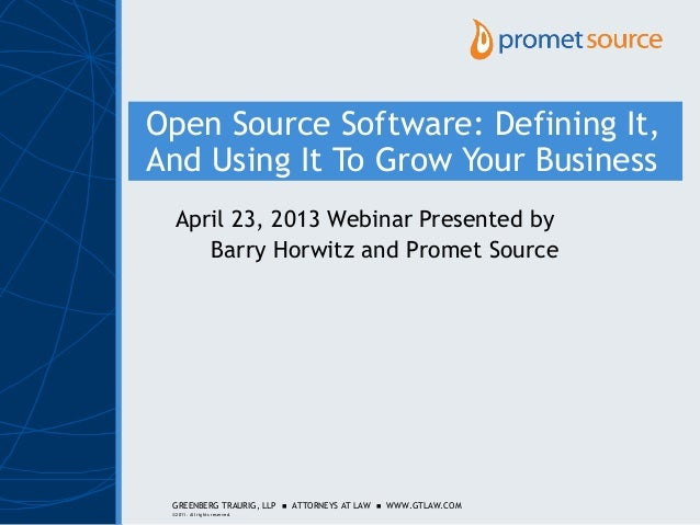 Open Source Software: An Edge For Your Growing Business