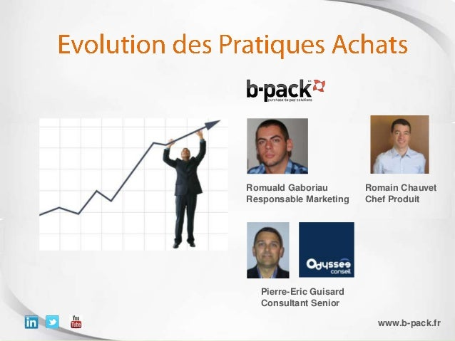 Copyright 2012, All rights reserved – b-pack is a registered trademarkPierre-Eric GuisardConsultant SeniorRomuald Gaboriau...