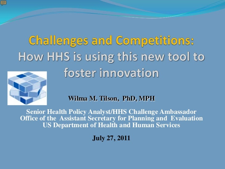 Challenges and Competitions: How HHS is using this new tool to foster innovation