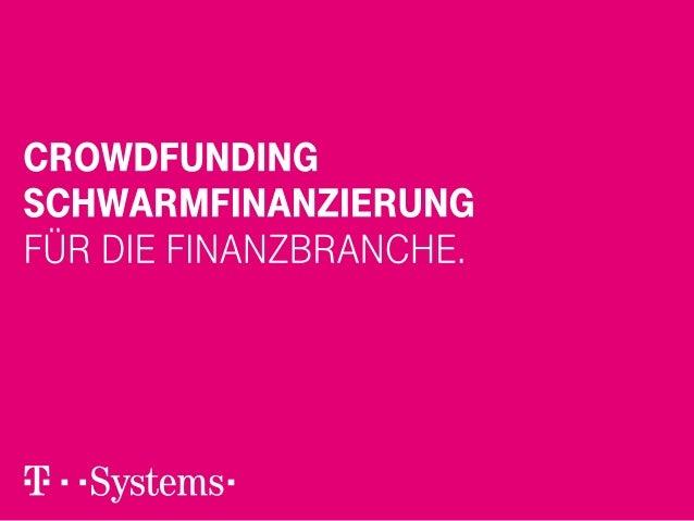 Webinar Crowdfunding für die Finanzbranche