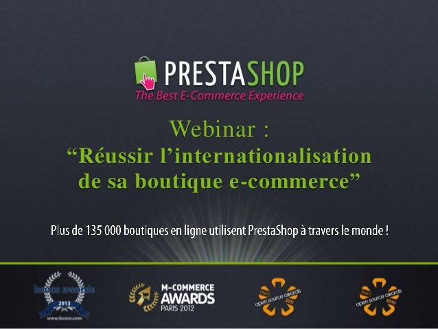 Réussir l'internationalisation de sa boutique e-commerce