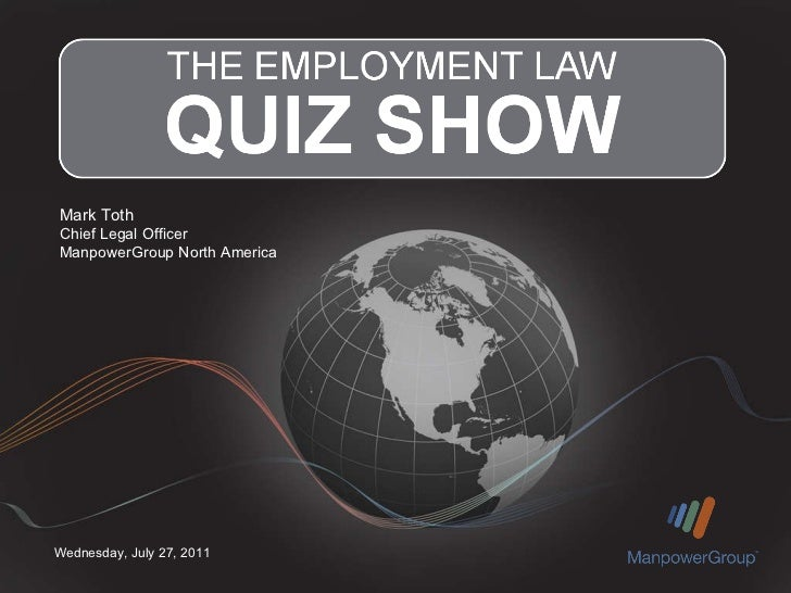 The Employment Law Quiz Show