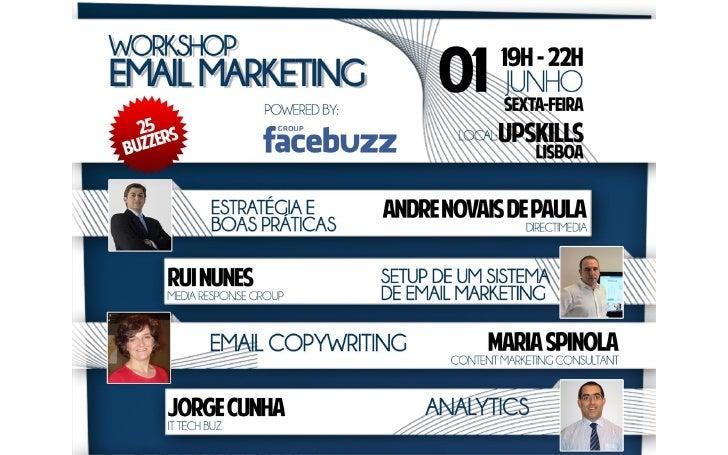Facebuzz Workshop Email Marketing - Email Copywriting