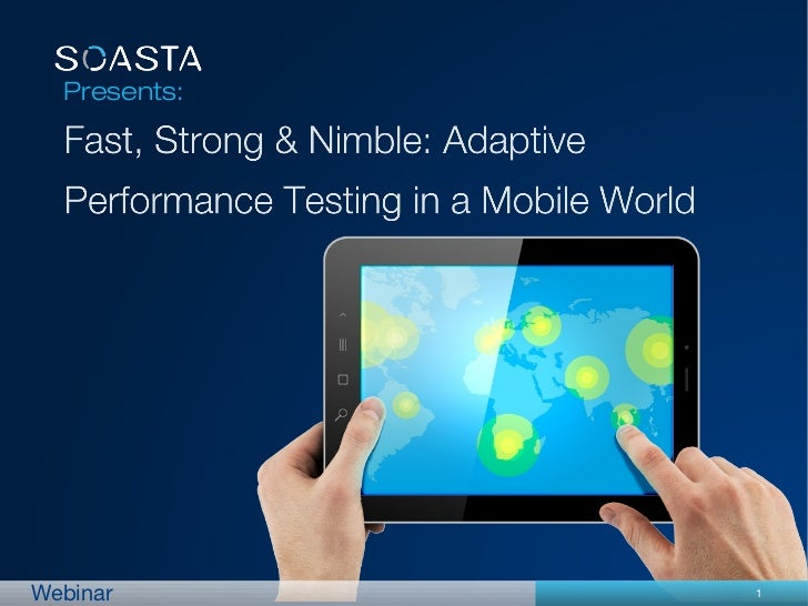 Fast, Strong & Nimble Mobile Performance Testing