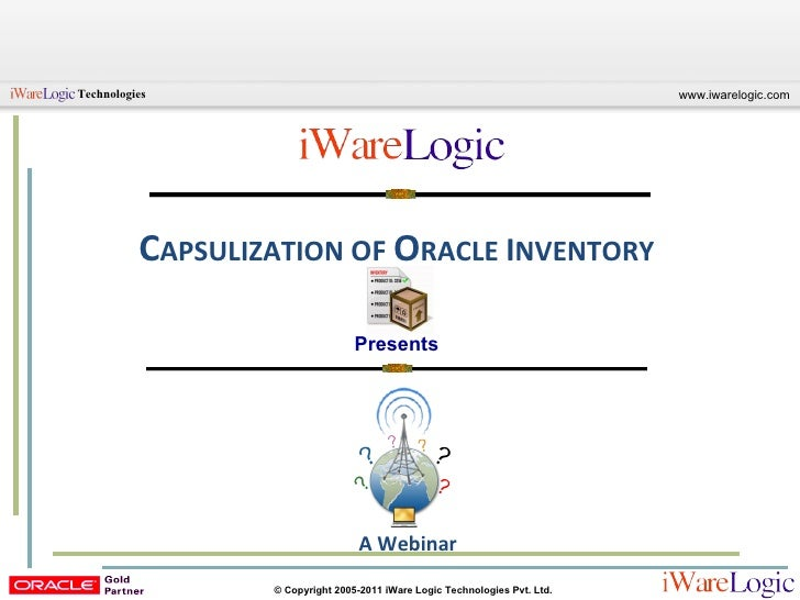 Capsulization of Oracle Inventory