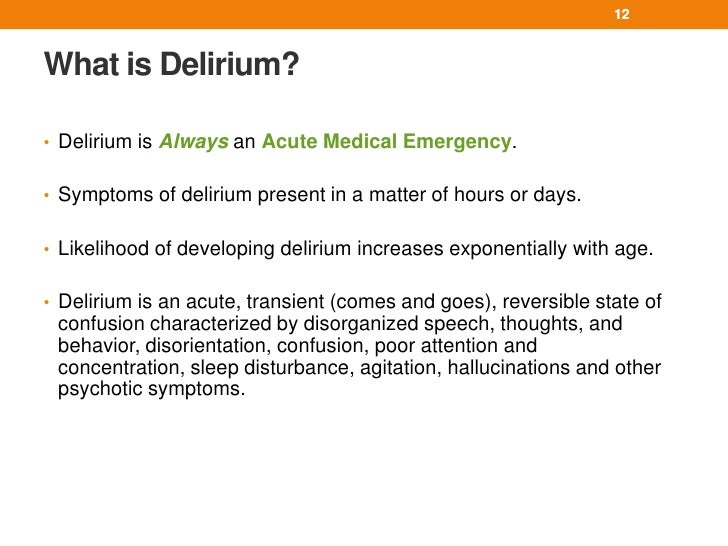 Developing delirium in the ICU linked to fatal outcomes