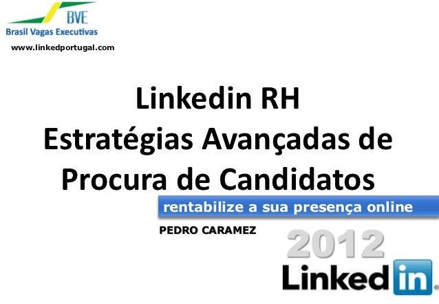 Webinario Linkedin recursos humanos   procura de candidatos - 25 outubro