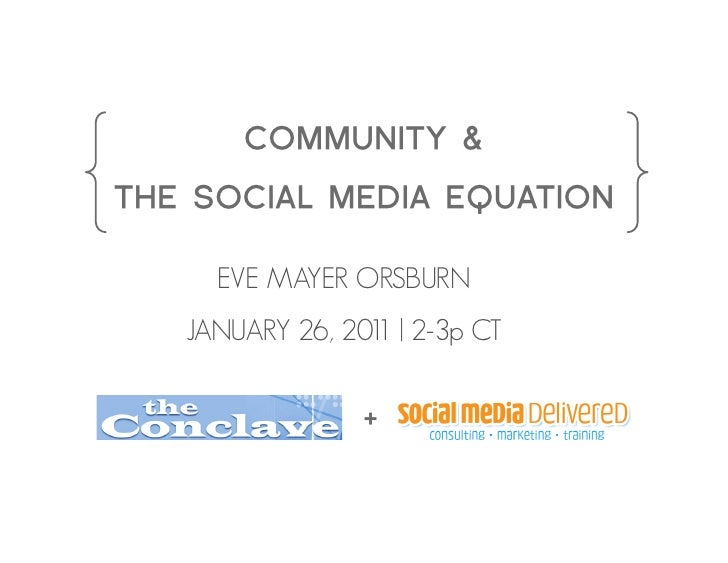 Conclave Webinar | January 26th 2011 2p - 3p