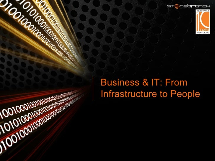 Business & IT: From Infrastructure to People
