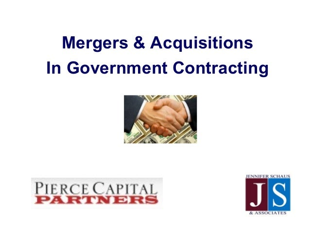 Mergers & AcquisitionsIn Government Contracting