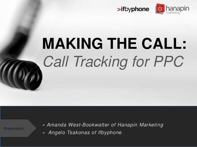 """Webinar """"Making the Call"""""""