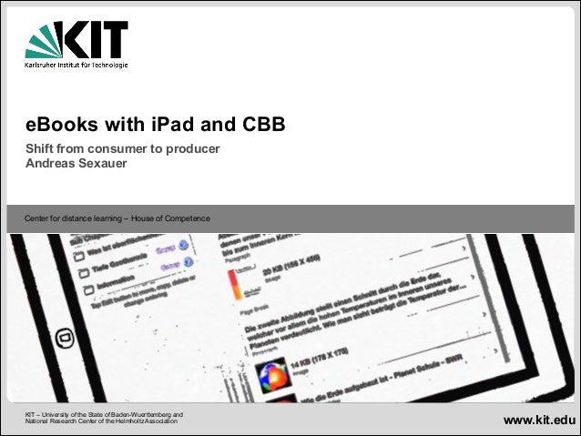 Presentation Andreas Sexauer - MEDEAnet webinar: E-book Creation