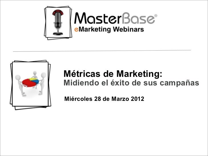 Webinar Metricas de Marketing