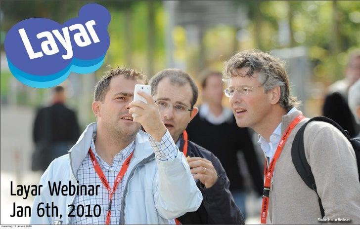 Webinar Presentatie Layar 6 Jan 2010