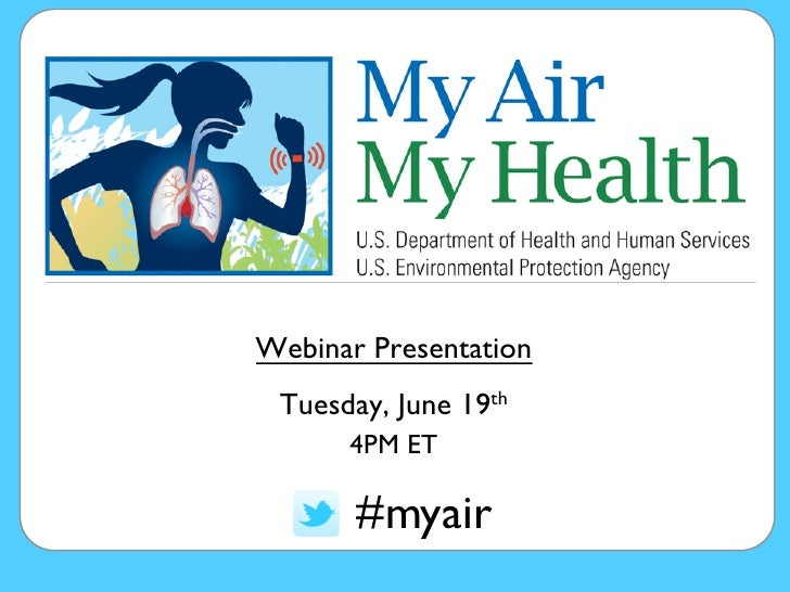 My Air, My Health Challenge Webinar