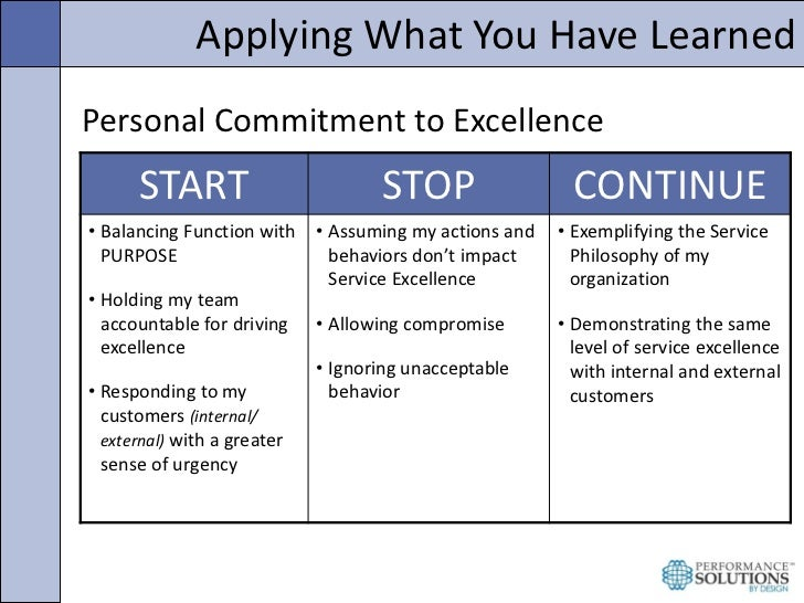 Creating A Culture Of Service Excellence