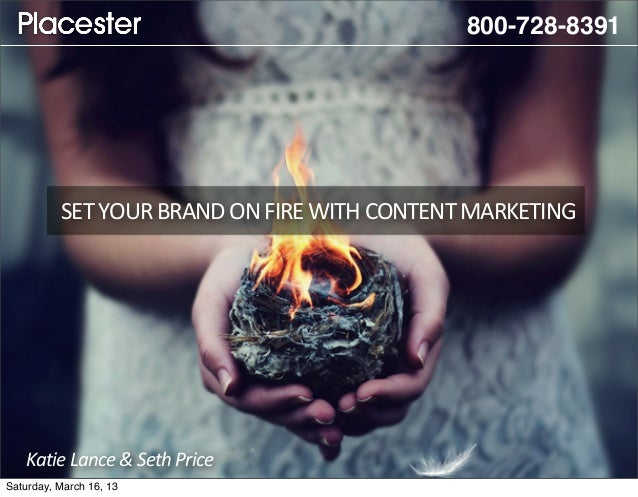 [Webinar] Set Your Brand on Fire with Content Marketing