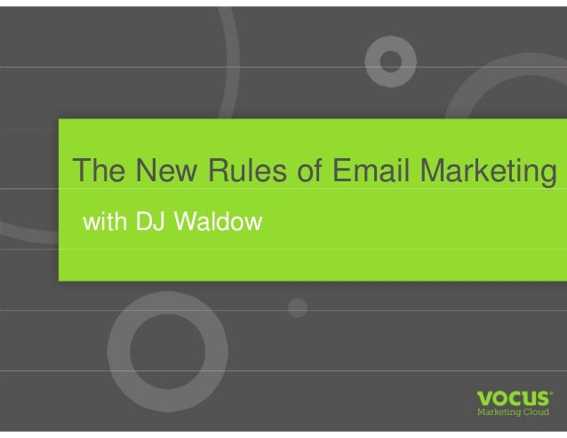 The New Rules of Email Marketing with DJ Waldow