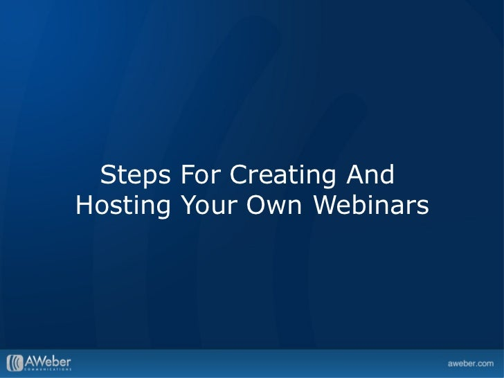 Marketing Your Small Business With Webinars