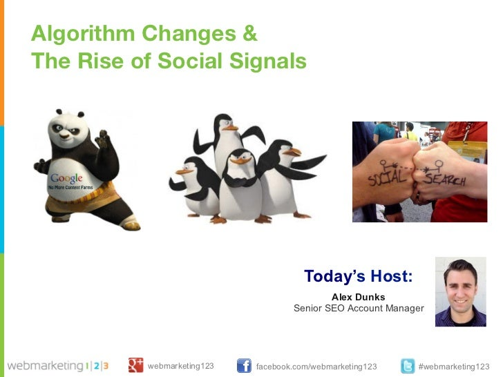 Webinar the penguin may just have wiped out your seo strategy