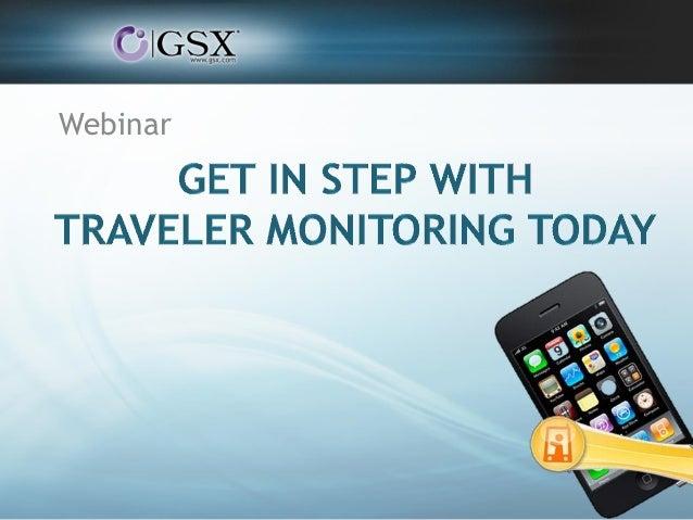 Webinar Get in Step With Traveler Monitoring