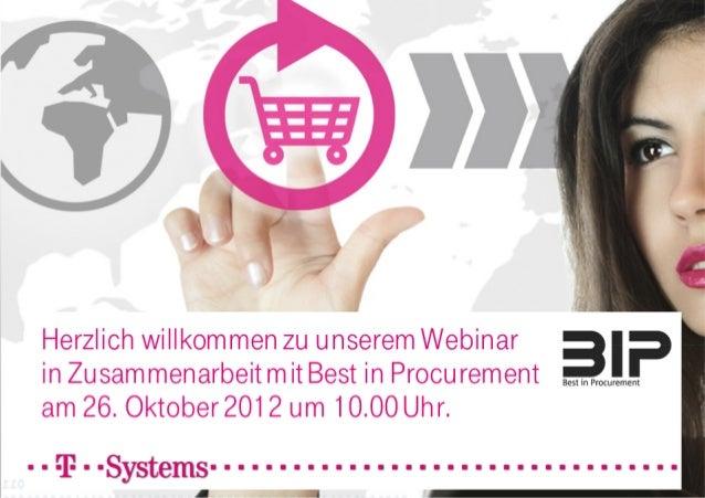 Harmonisierung der Einkaufsprozesse
