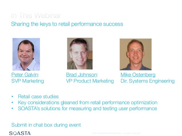 What Retailers Know About Performance and User Experience