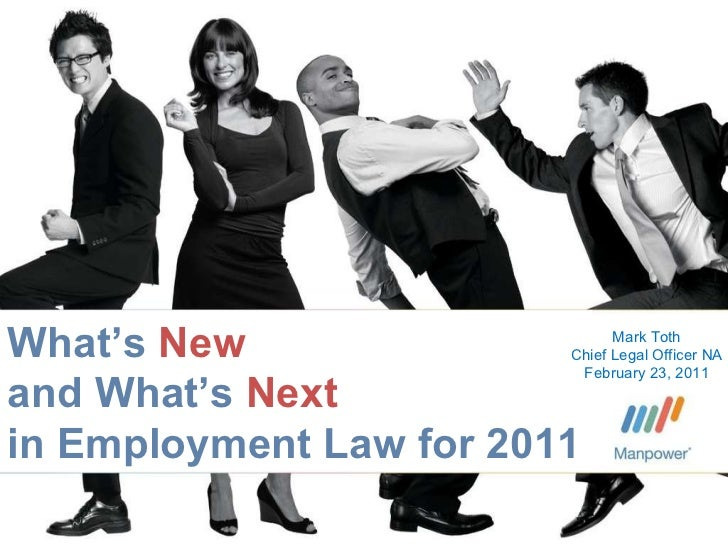 What's New and What's Next in Employment Law for 2011