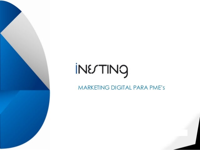 Webinário Marketing Digital PMEs