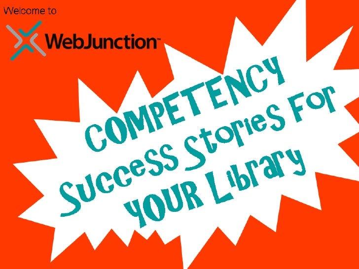 WebJunction Competency Webinar