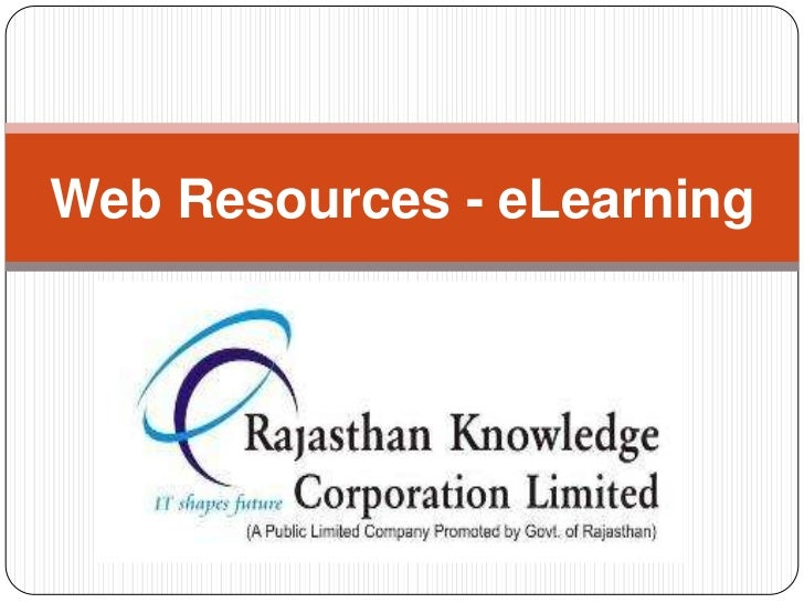Web Resources - eLearning