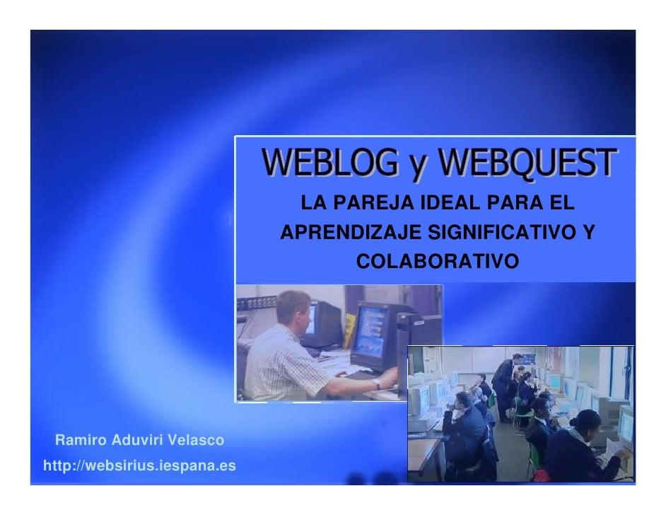 Weblog Webquest