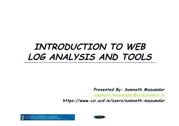 Weblog analsys