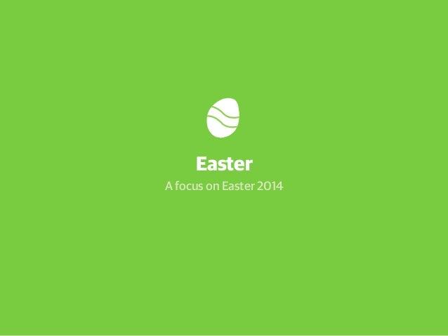 Webloyalty Easter Retail Report 2014 - a focus on consumer behaviour