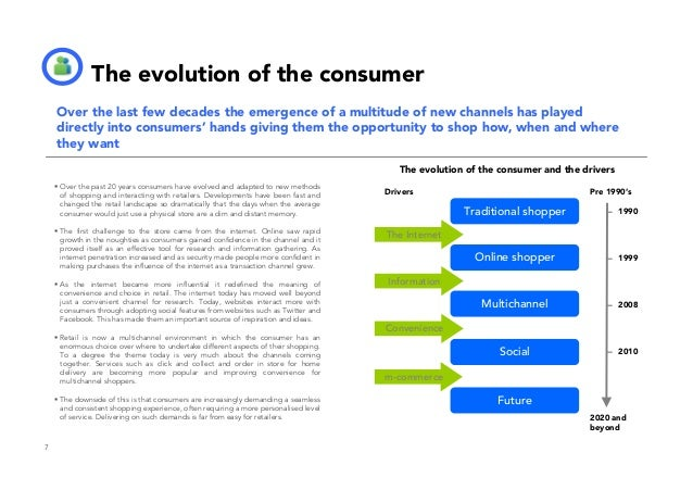 The impact of mobile on multichannel retail. The consumer