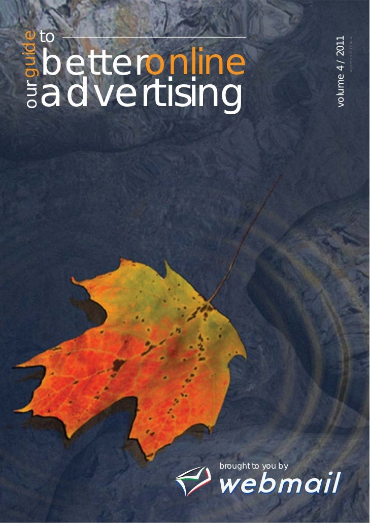 Webmail - Our guide to online advertising Volume 4