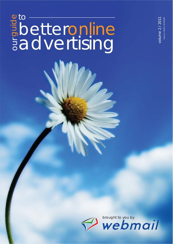Webmail - Our guide to online advertising Volume 2
