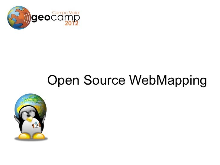 Open Source WebMapping