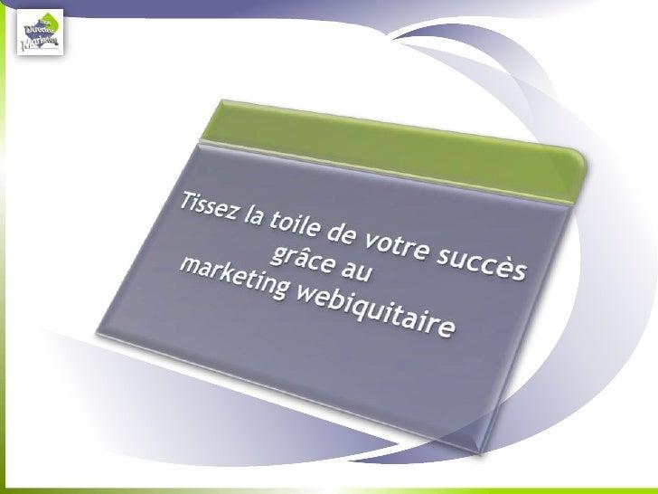 Le web-marketing                                                                   Mythe ou réalité ?   Pour qui douterai...