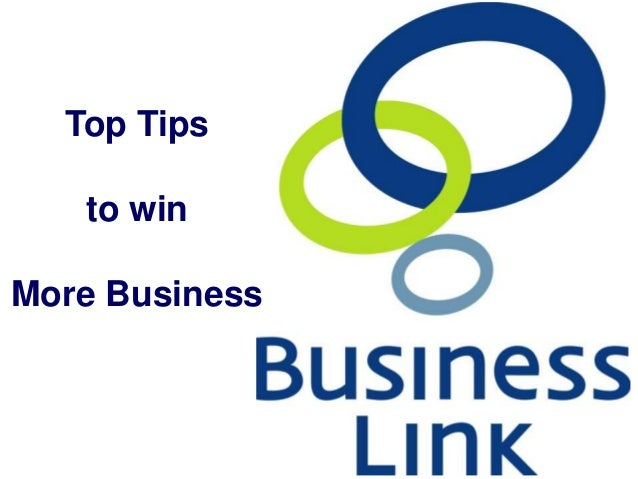 1 Top Tips to win More Business