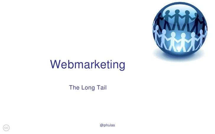 Web marketing - The Long Tail
