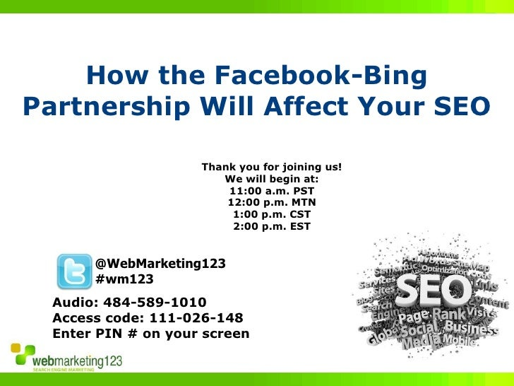 How the Facebook-Bing Partnership Will Affect Your SEO                       Thank you for joining us!                    ...