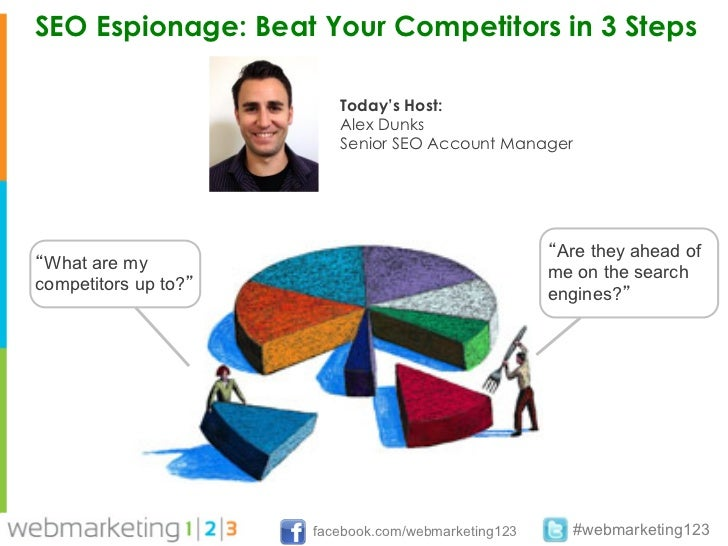 SEO Espionage: Beat Your Competitors in 3 Steps                         Today's Host:                         Alex Dunks  ...