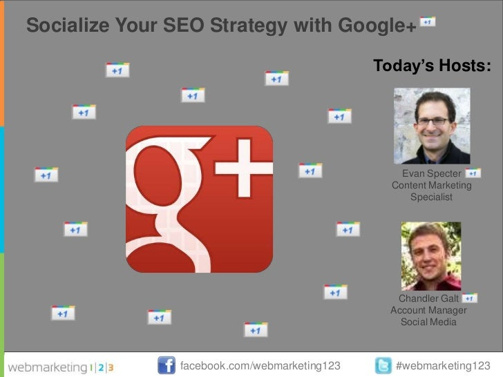 [Webmarketing123] socialize your seo strategy with google+ (digest)