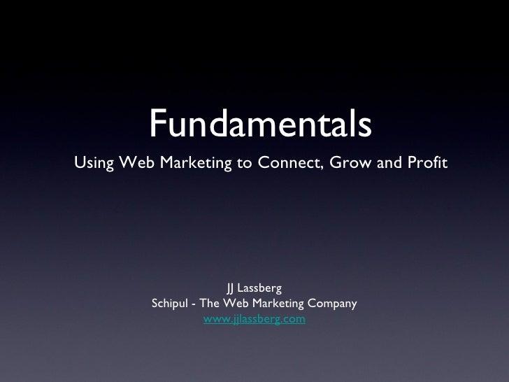 Webmarketing Fundamentals