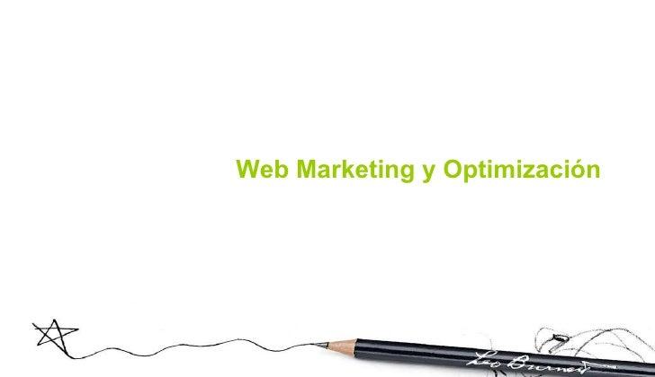 Web Marketing y Optimización