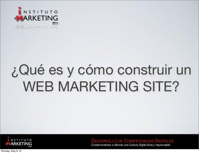 Web marketing sites