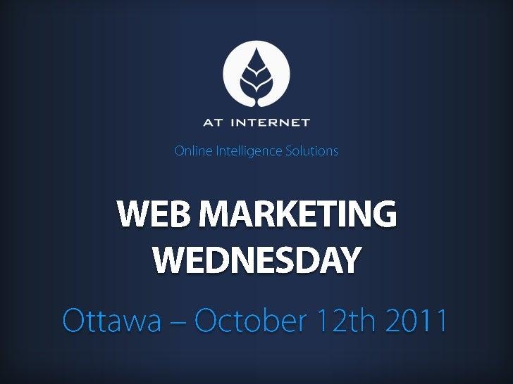 Web marketing wednesday ottawa 2011 at internet